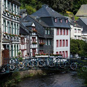 Monschau, Eifel, Deutschland